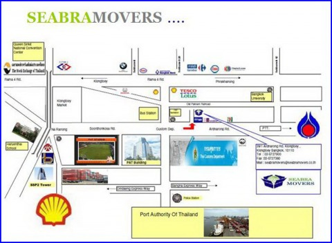 Picture Map - Seabra Movers