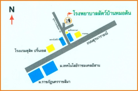 Picture Map - Ban Dr Ton Pet Hospital