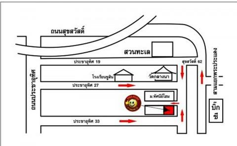 แผนที่รูปภาพ - ผ้ากุ๊นไทยแลนด์