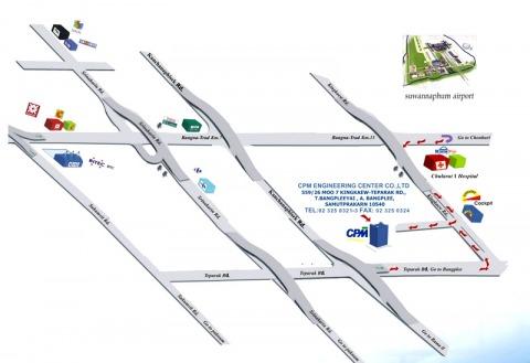 แผนที่รูปภาพ - บริษัท ซีพีเอ็ม เอ็นจิเนียริ่ง เซ็นเตอร์ จำกัด