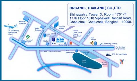 แผนที่รูปภาพ - บริษัท โอร์กาโน่ (ประเทศไทย) จำกัด