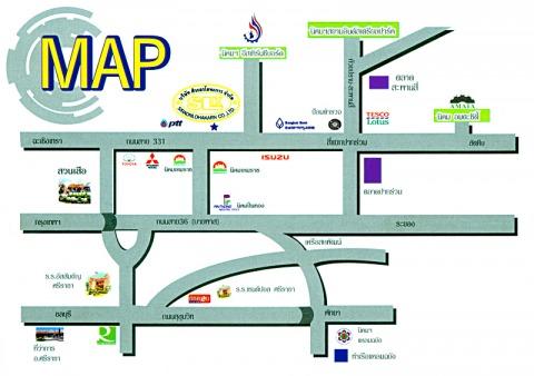 แผนที่รูปภาพ - โรงกลึงบ่อวิน ชลบุรี ศิระอรโลหะการ