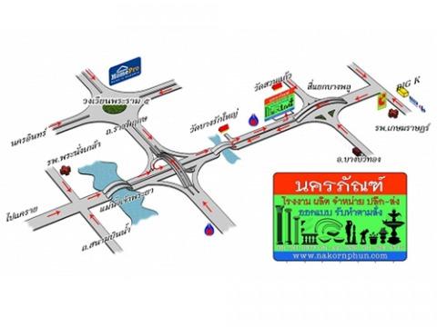 แผนที่รูปภาพ - บัวปูนปั้น-นครภัณฑ์