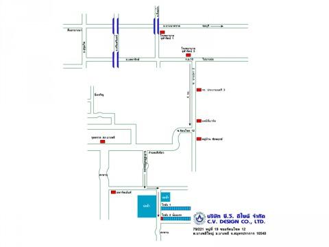 แผนที่รูปภาพ - บริษัท ซี วี ดีไซน์ จำกัด