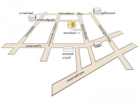 แผนที่รูปภาพ - บริษัท เงินและทอง วิศวกรรมและก่อสร้าง จำกัด