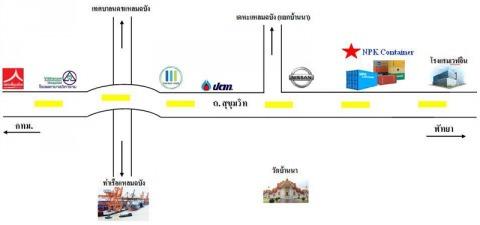 แผนที่รูปภาพ - บริษัท เอ็นพีเค คอนเทนเนอร์ จำกัด
