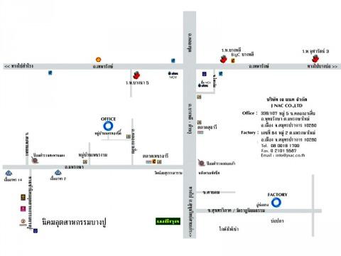 แผนที่รูปภาพ - บริษัท เจ แนค จำกัด