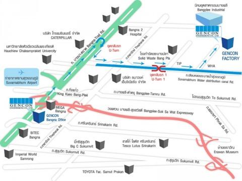 แผนที่รูปภาพ - บริษัท เจนคอน เอ็นจิเนียริ่ง จำกัด
