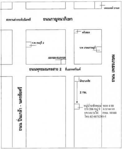แผนที่รูปภาพ - บริษัท อารยะเวลล์ จำกัด