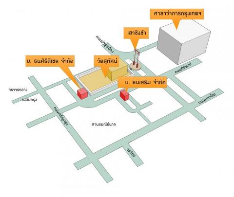 แผนที่รูปภาพ - บริษัท ธนศิริดีเซล จำกัด