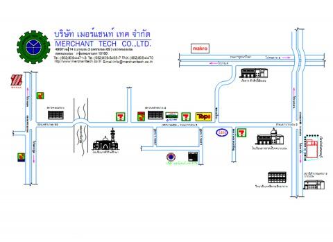 แผนที่รูปภาพ - บริษัท ห้องเย็นเมอร์แชนท์เทค จำกัด