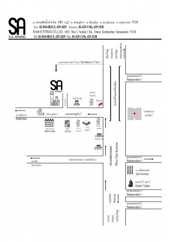 แผนที่รูปภาพ - ผลิตข้อต่ออุตสาหกรรม สยามฟิตติ้งส์