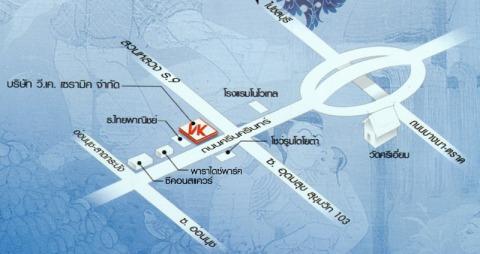 แผนที่รูปภาพ - บริษัท วี เค เซรามิค จำกัด