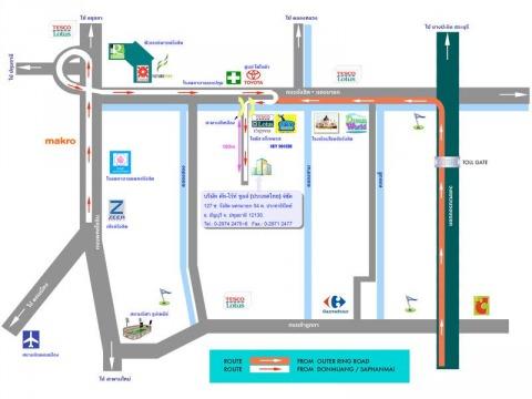 แผนที่รูปภาพ - บริษัท คัท-ไร้ท์ ทูลส์ (ประเทศไทย) จำกัด