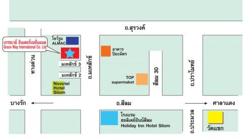แผนที่รูปภาพ - บริษัท เกรซเวย์ อินเตอร์เนชั่นแนล จำกัด