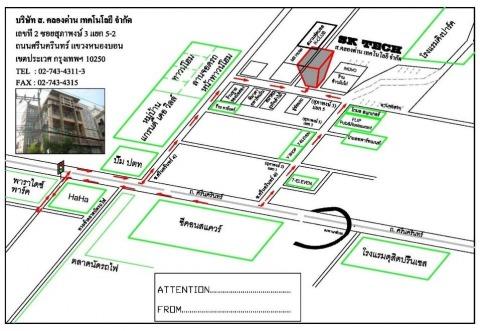 แผนที่รูปภาพ - บริษัท ส คลองด่าน เทคโนโลยี จำกัด