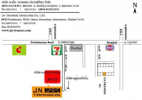แผนที่รูปภาพ - บริษัท เจ เอ็น ทรานสอส (ประเทศไทย) จำกัด