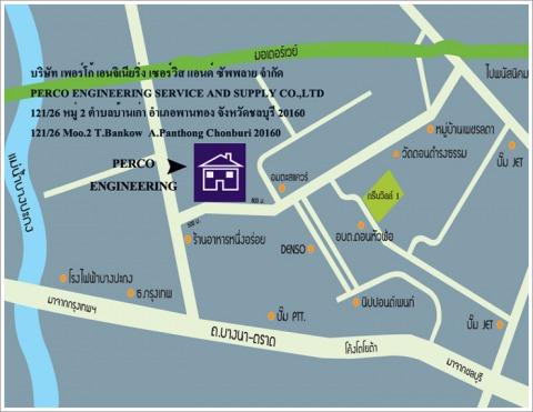 แผนที่รูปภาพ - บริษัท เพอร์โก้ เอนจิเนียริ่ง เซอร์วิส แอนด์ ซัพพลาย จำกัด