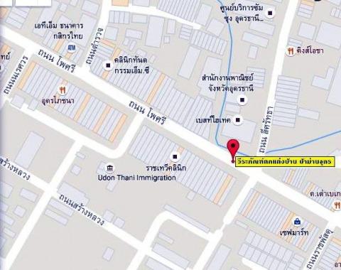 แผนที่รูปภาพ - ผ้าม่านอุดร วีระภัณฑ์ตกแต่งบ้าน
