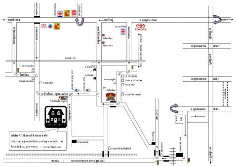แผนที่รูปภาพ - บริษัท พี.วี.ที.แอนด์ ที.พลาส จำกัด