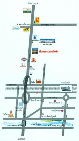 แผนที่รูปภาพ - ห้างหุ้นส่วนจำกัด เมืองธรรมการไฟฟ้า