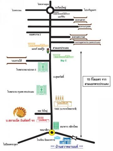 แผนที่รูปภาพ - บริษัท สยามเน็ตอินดัสตรีส์ จำกัด