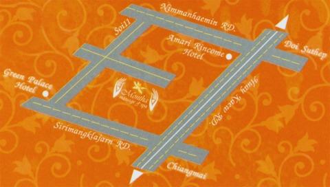 แผนที่รูปภาพ - มณฑา แมสสาจ แอนด์ สปา