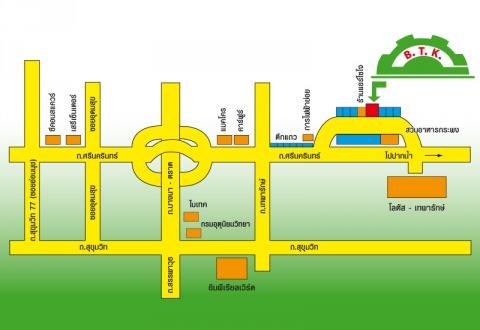 แผนที่รูปภาพ - ห้างหุ้นส่วนจำกัด บี ที เค เอ็นจิเนียริ่ง โปรดักส์
