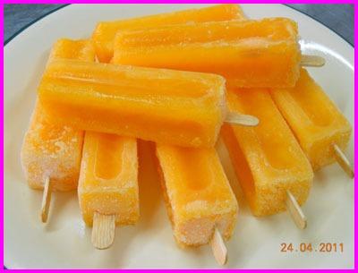 ไอศครีมผลไม้ - ไอศกรีมตราจรวด จันทบุรี