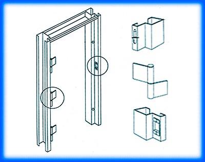 วงกบประตูเหล็ก - บริษัท เค วาย เมทอล เวิร์ค (ประเทศไทย) จำกัด