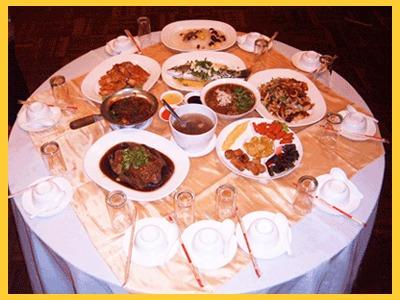 พัชมนโต๊ะจีน