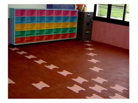 Rubber Floor Dyed Color - แผ่นยางปูพื้น-กรีนไทร์