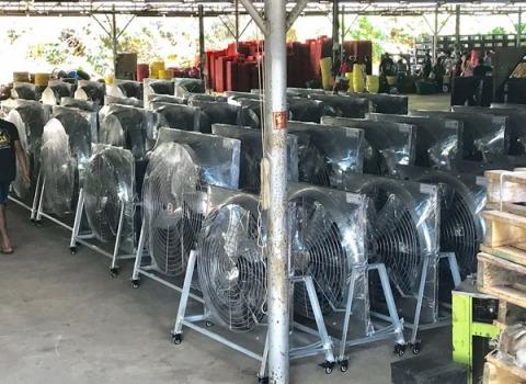พัดลมฟาร์ม ราคาโรงงาน - พัดลมระบายอากาศ-มงคลถาวรกิจ