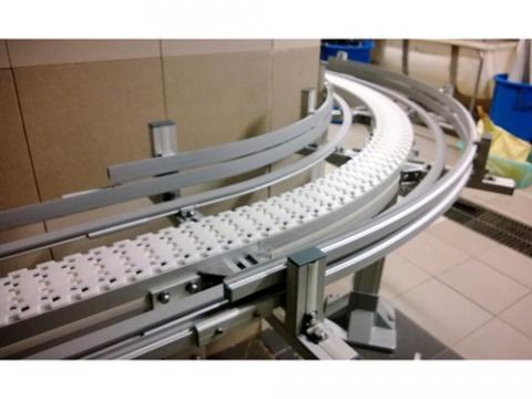 สายพานลำเลียงพลาสติก - ติดตั้ง และออกแบบระบบลำเลียง พีพีเอ็ม ออโต้-แฟล็ก