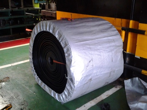 V-Shaped Conveyor Belt - สายพานลำเลียง