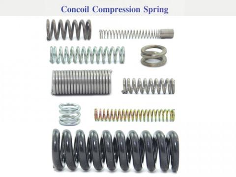 สปริงชนิดกด / Concoil Compression Spring - บริษัท เอส เอส สปริง จำกัด
