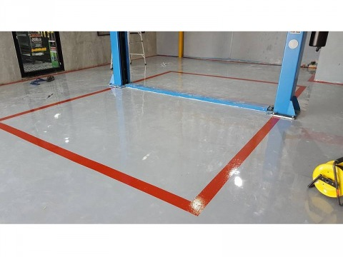 Epoxy Flooring - รับทำพื้นอีพ๊อกซี่ - บริษัท โคแอค กราวด์ จำกัด
