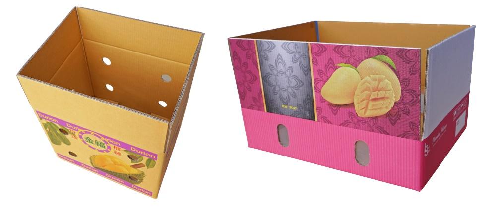 กล่องใส่ผลไม้ ขายกล่องกระดาษใส่ผลไม้