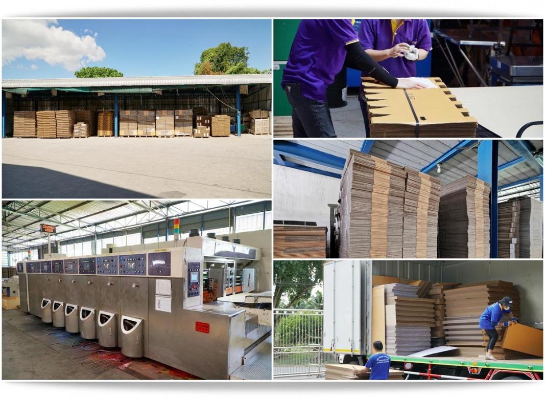 โรงงานรับผลิตกล่องกระดาษลูกฟูก ชลบุรี