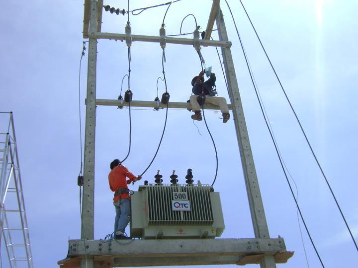 วิศวกรติดตั้งหม้อแปลงไฟฟ้า ชลบุรี