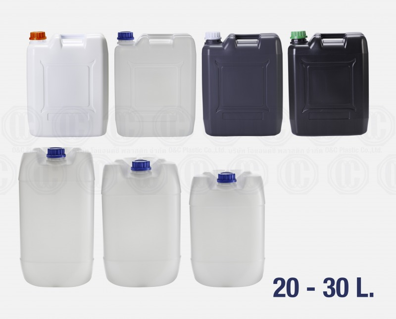แกลลอนพลาสติก 20 ลิตรถึง30 ลิตร
