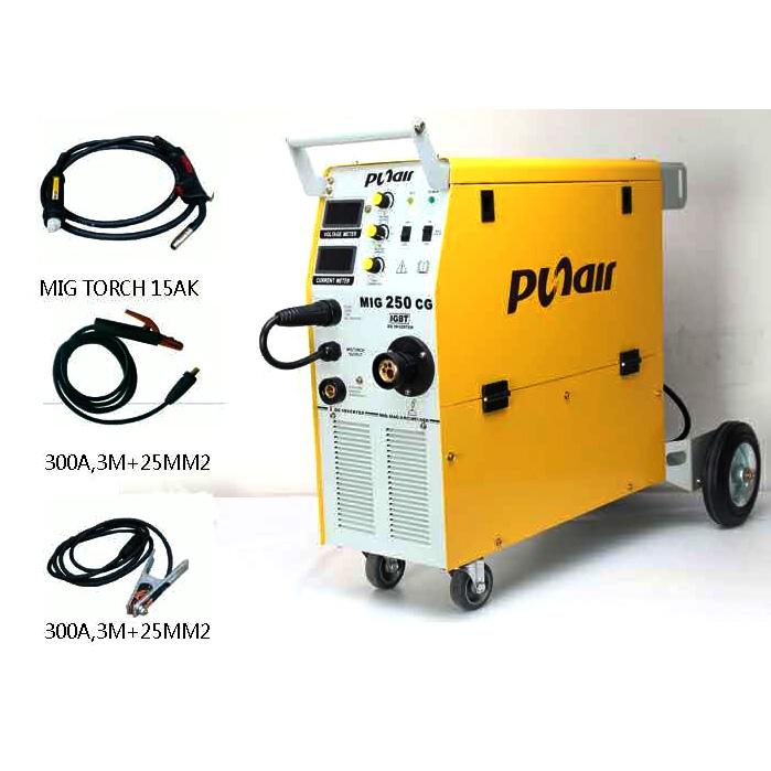 เครื่องเชื่อม CO2 MIG250 CG (PUNAIR)