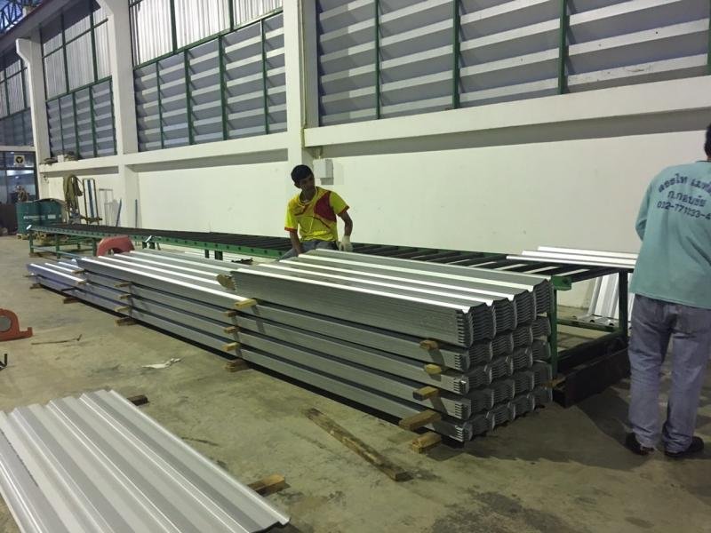 โรงงานหลังคาเมทัลชีท เพชรบุรี
